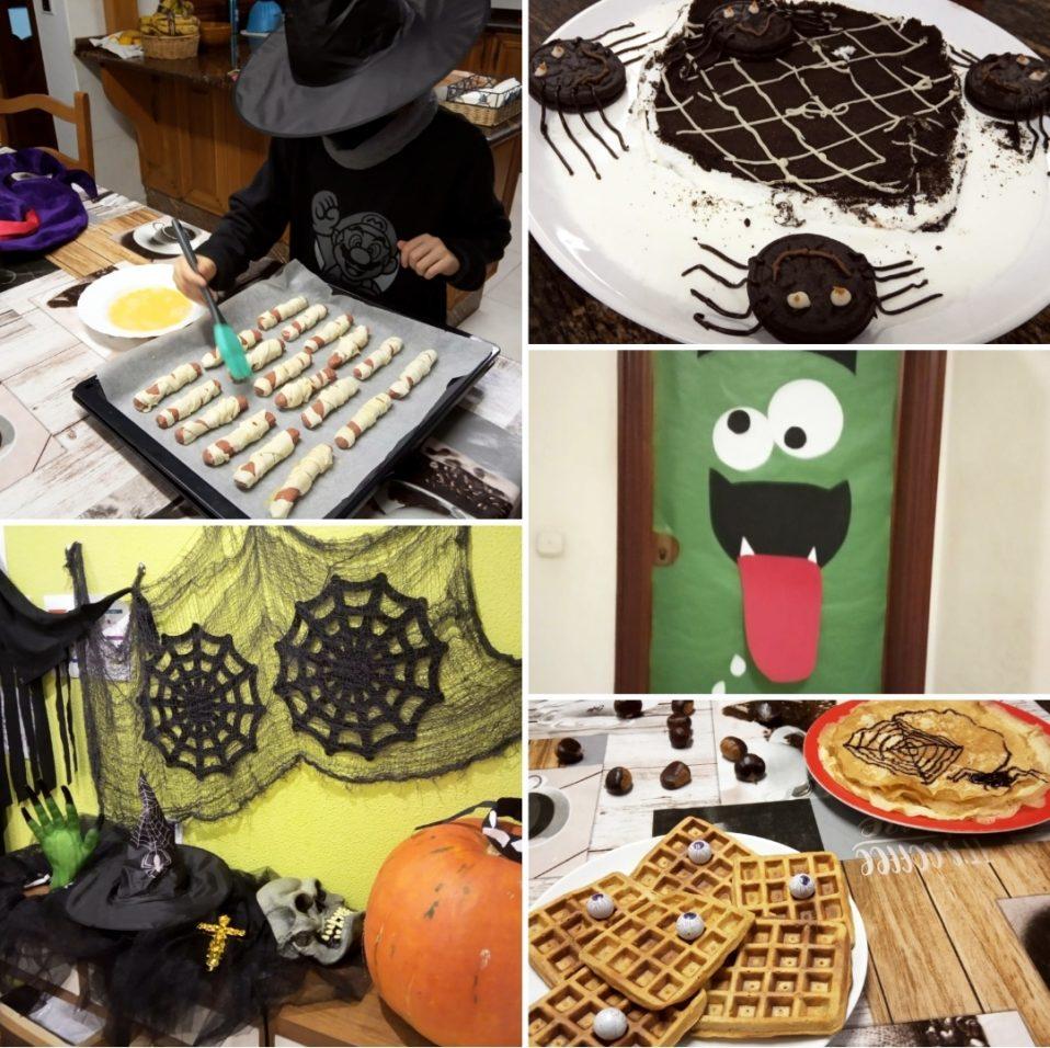 Collague fotos Halloween