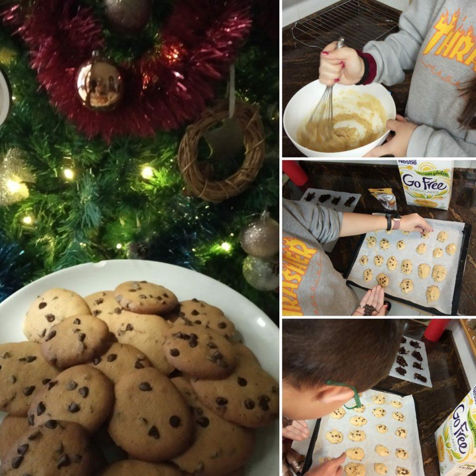 Fotos haciendo galletas