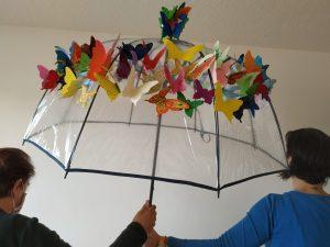 Taller de paraguas