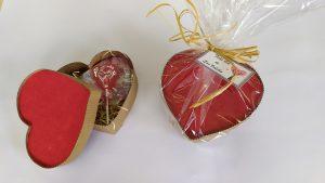 Foto caja de corazón