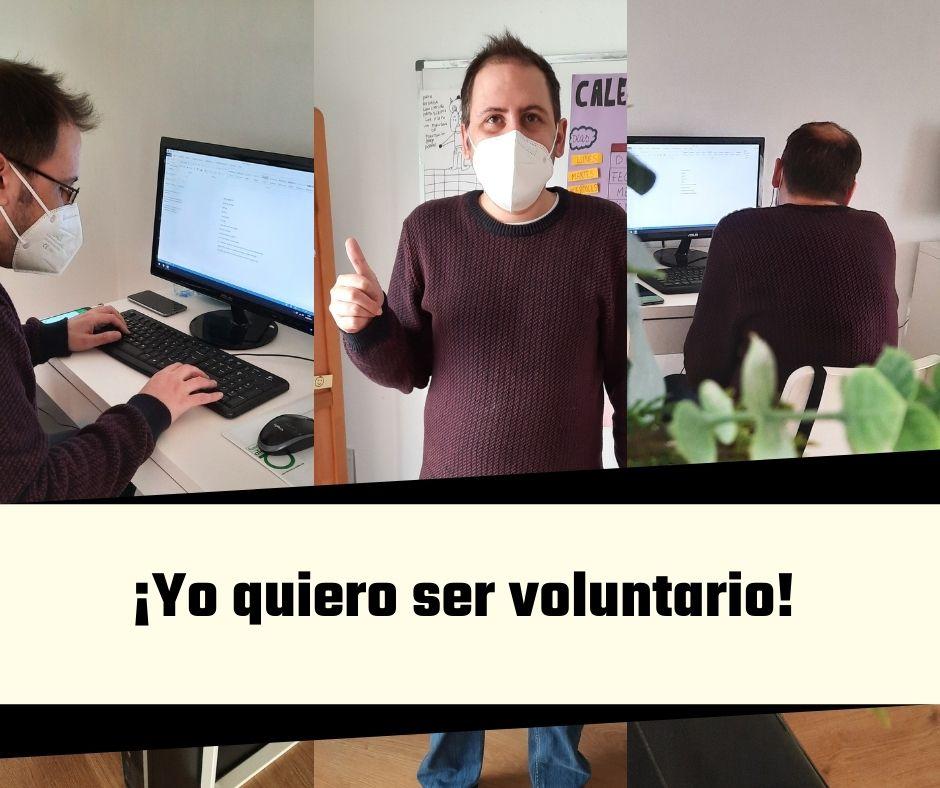 Foto del voluntario