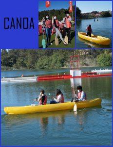 Collague fotos en Canoa