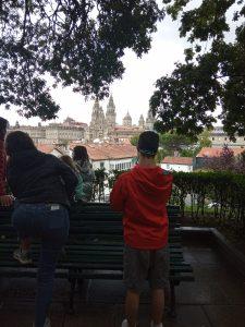 Chicos en Santiago