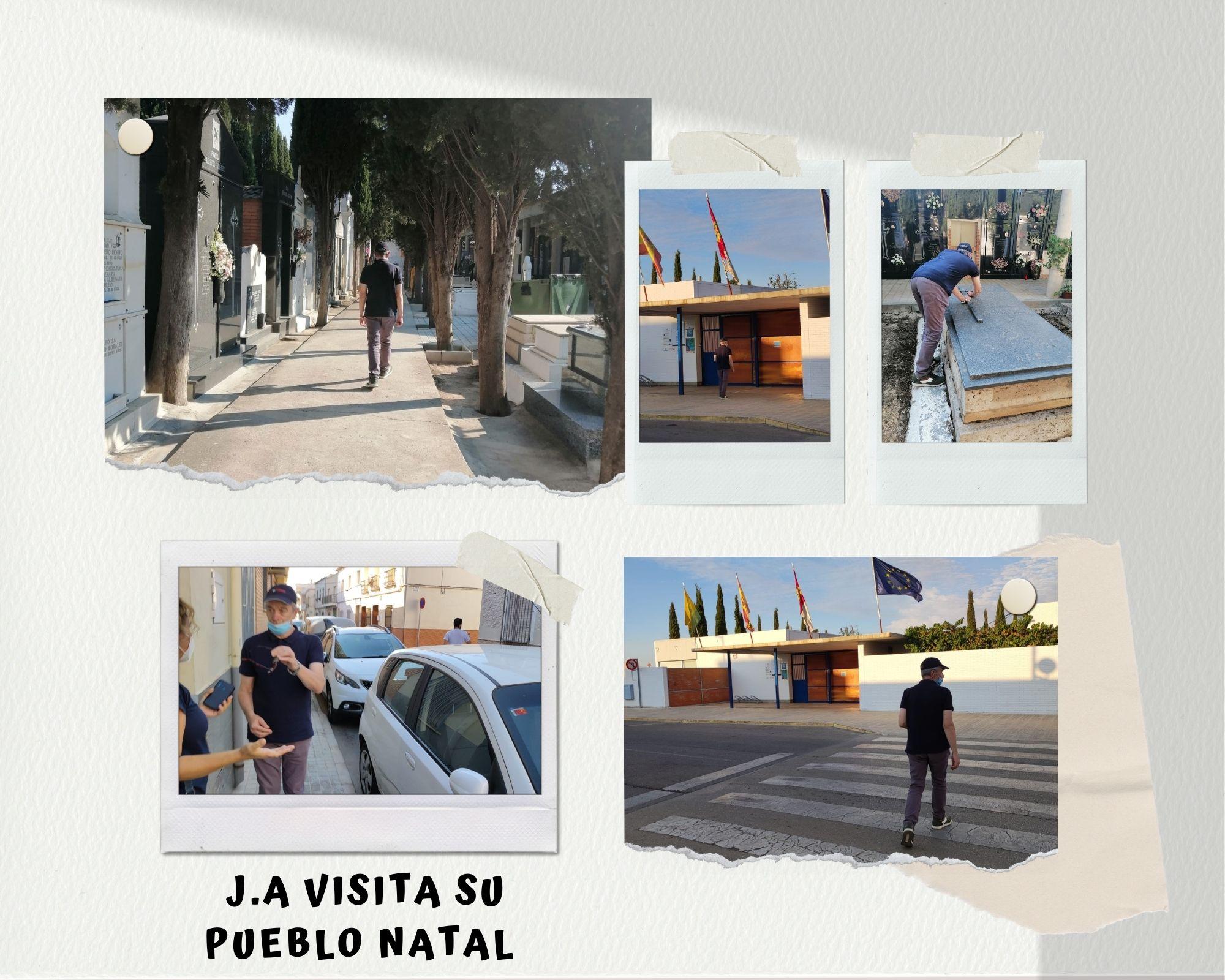 Collague fotos de la visita